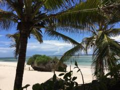 one of the beach in the North of Diani