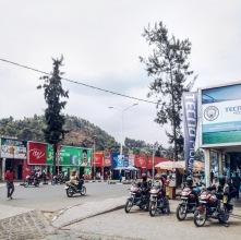 Near the city market