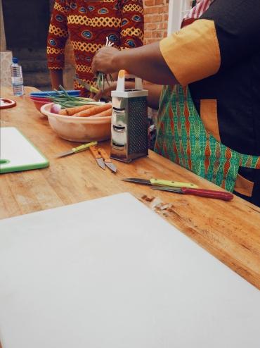 Cours de cuisine Kigali