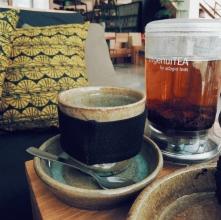 Tea and Rwanda ceramics cup