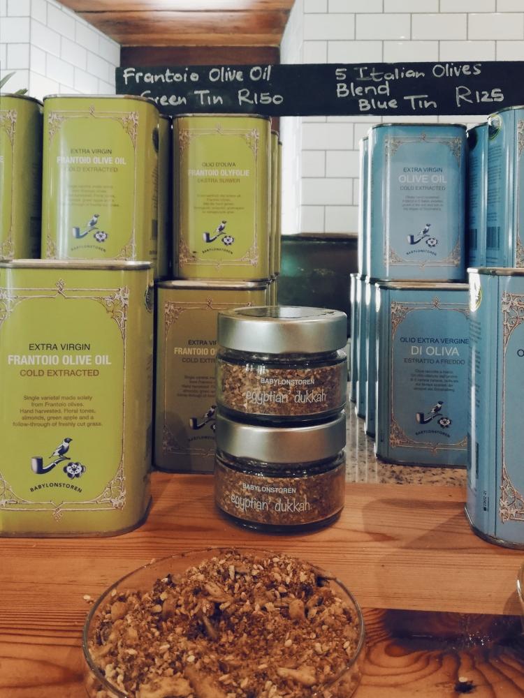 L'huile d'olive de Babylonstoren