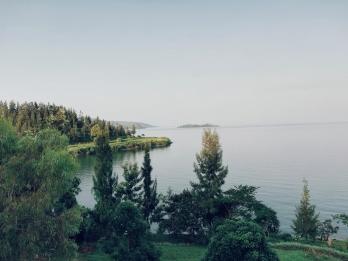 Majestueux lac Kivu