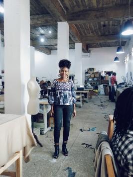 Joselyne, the mind behind Rwanda Clothing