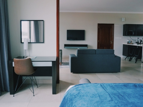 Office space in the room