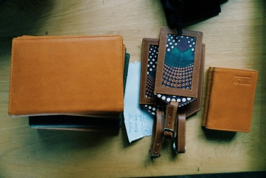 Wallets and luggage tags